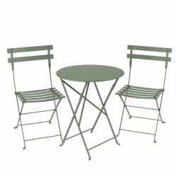 Fermob Bistro Set - 60cm Table and 2 Chairs
