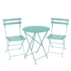 Bistro Setting - 60cm Table and 2 Chairs from the Bistro Outdoor Furniture collection