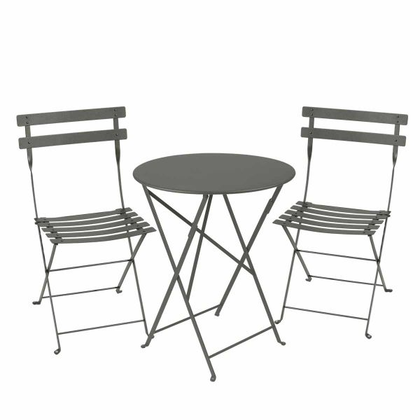 Fermob Bistro Set - 60cm Table and 2 Chairs in Rosemary