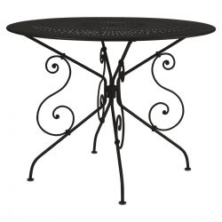 1900 Outdoor Table Round 96cm in colour Cactus from 1900 Garden Furniture