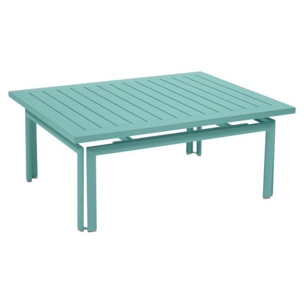Fermob Costa Low Table in Lagoon Blue