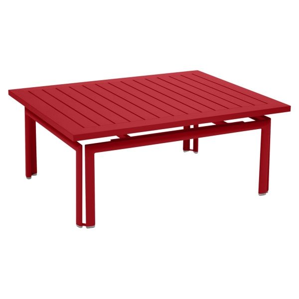 Fermob Costa Low Table in Poppy