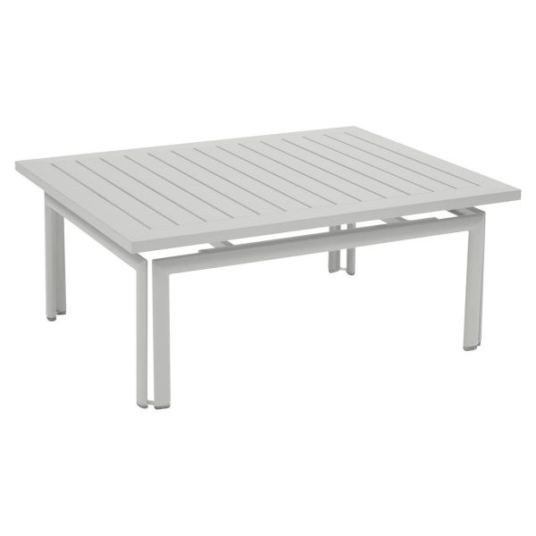 Fermob Costa Low Table in Steel Grey