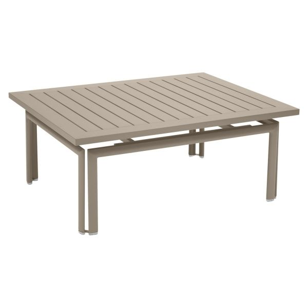 Fermob Costa Low Table in Nutmeg
