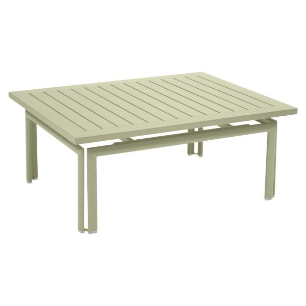 Fermob Costa Low Table in Willow Green