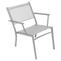 Costa Low Outdoor Armchair in colour Steel Grey from Costa Designer Outdoor Furniture