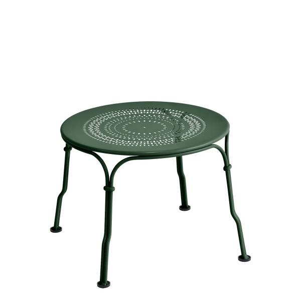Fermob 1900 Low Table in Cedar Green