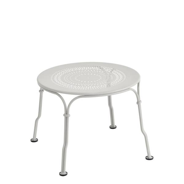 Fermob 1900 Low Table in Steel Grey