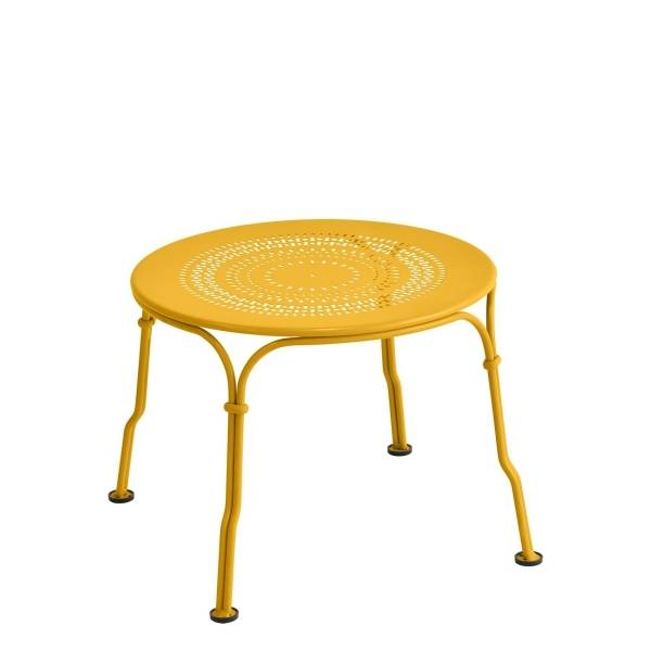 Fermob 1900 Low Table in Honey