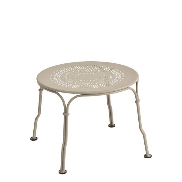 Fermob 1900 Low Table in Nutmeg