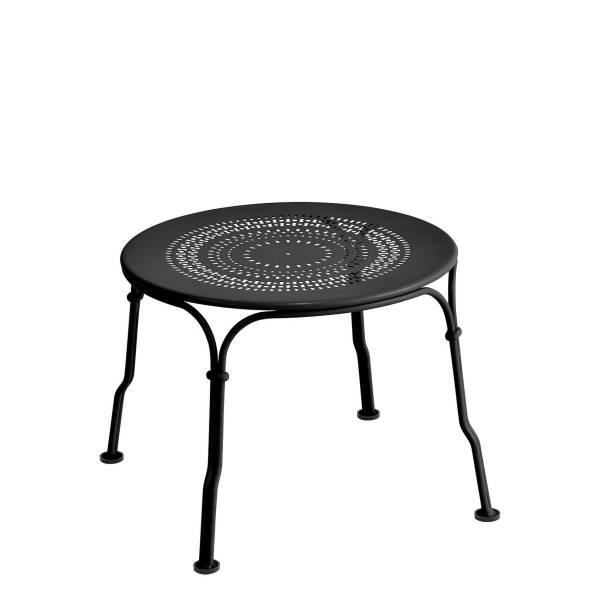 Fermob 1900 Low Table in Liquorice