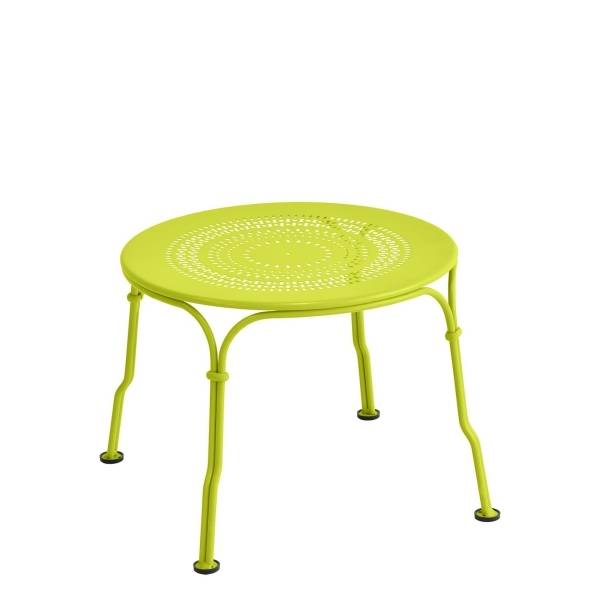Fermob 1900 Low Table in Verbena