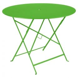 Bistro Table Round 96cm Colour Clearance in colour Paprika from Clearance Products