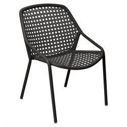Croisette Outdoor Armchair in colour Liquorice from Croisette Collection