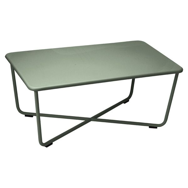 Fermob Croisette Low Table in Cactus