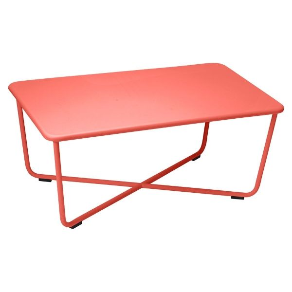 Fermob Croisette Low Table in Capucine