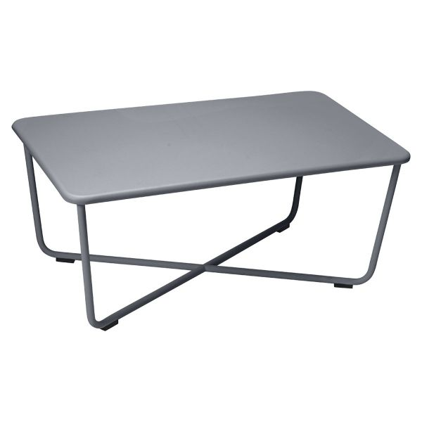 Fermob Croisette Low Table in Anthracite