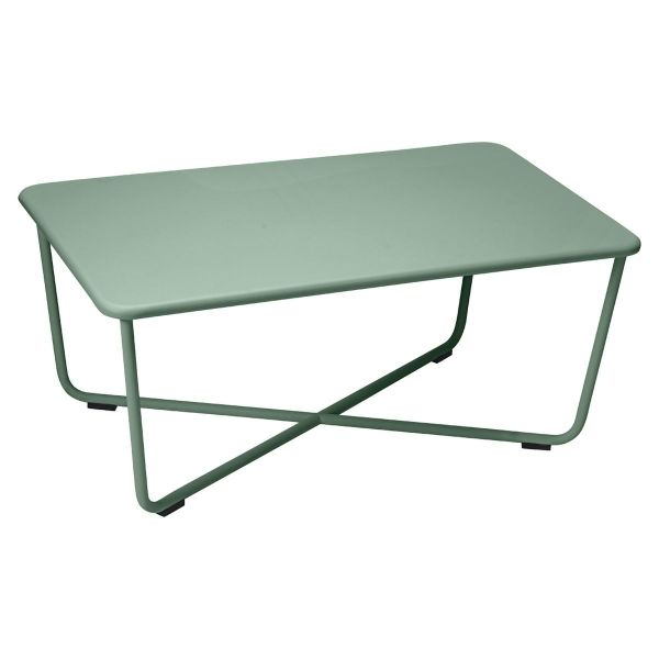 Fermob Croisette Low Table in Cedar Green