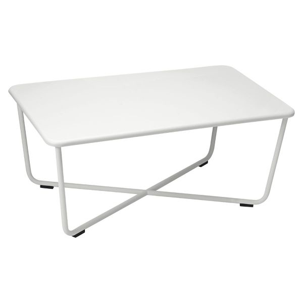 Fermob Croisette Low Table in Steel Grey