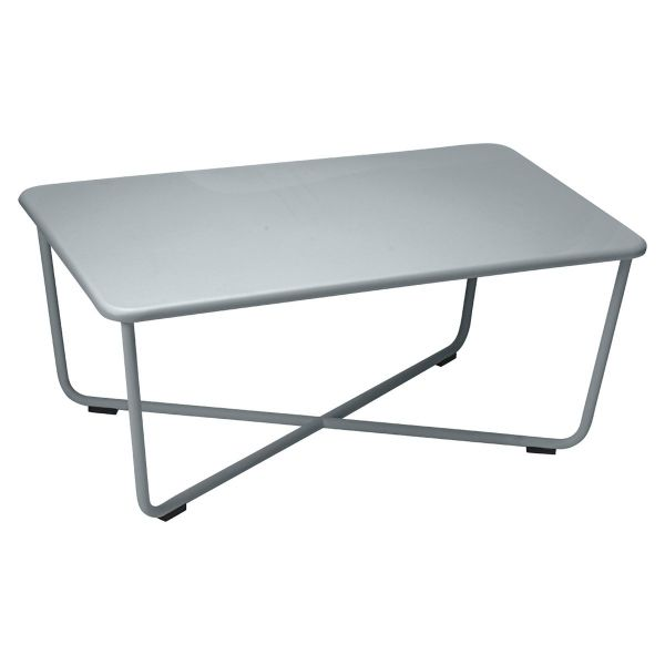 Fermob Croisette Low Table in Storm Grey
