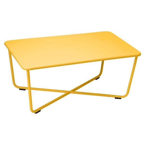 Fermob Croisette Low Table in Honey