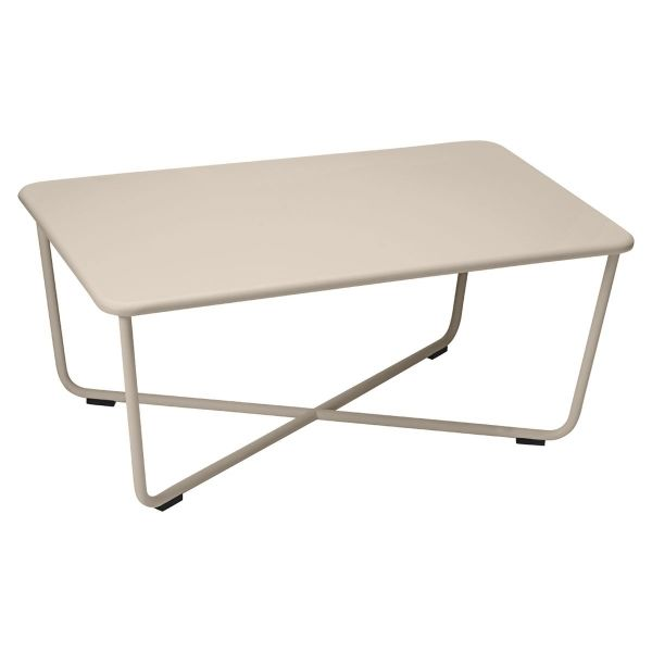 Fermob Croisette Low Table in Nutmeg