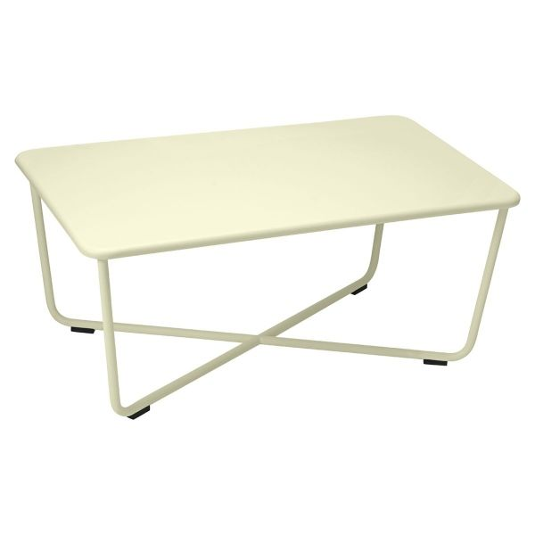Fermob Croisette Low Table in Willow Green