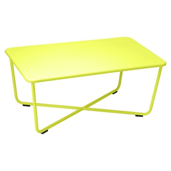 Fermob Croisette Low Table in Verbena