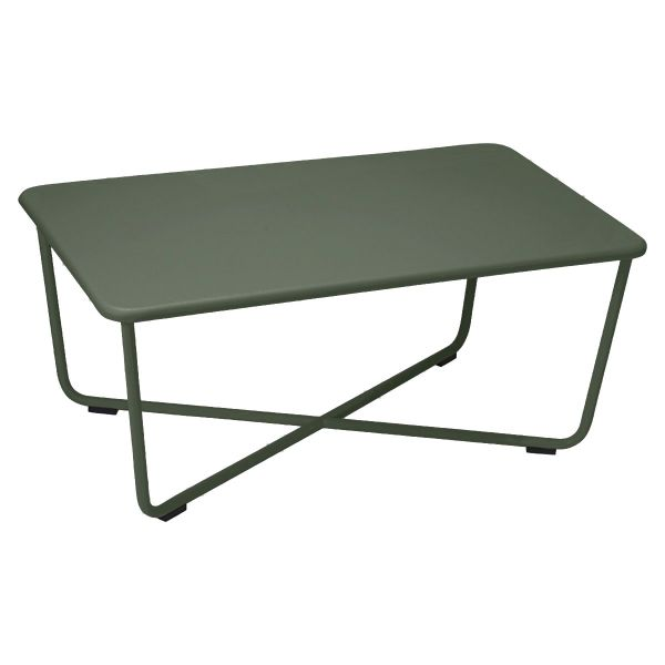Fermob Croisette Low Table in Rosemary