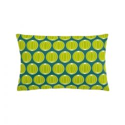 Melons Outdoor Cushion - 68cm x 44cm in colour Jade from Envie D'Ailleurs Collection