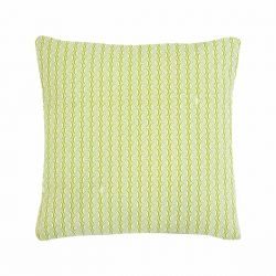 Bananes Outdoor Cushion 70 x 70cm in colour Opaline from Envie D'Ailleurs Collection