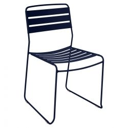 Surprising Outdoor Chair in colour Deep Blue from Surprising Collection
