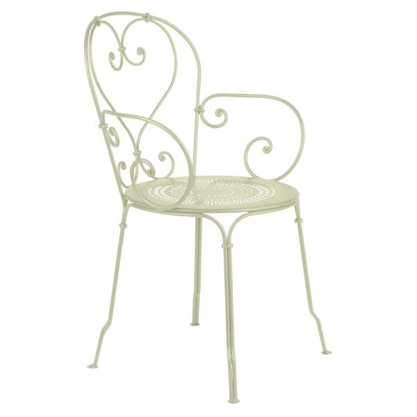 Fermob 1900 Armchair in Willow Green