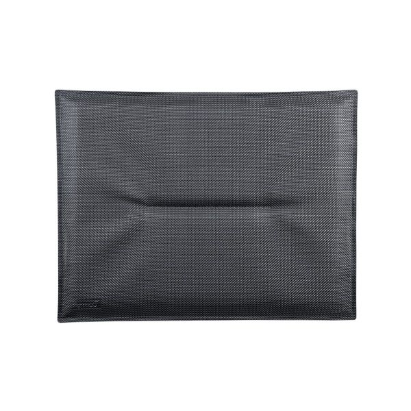 Fermob Les Basics Bistro Chair Cushion 28 x 38cm in Anthracite
