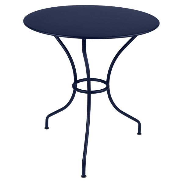 Fermob Opera Round Table 67cm in Deep Blue