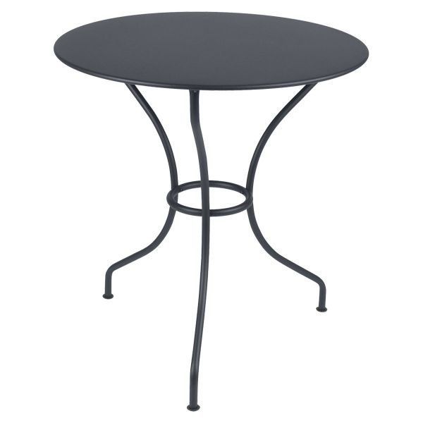 Fermob Opera Round Table 67cm in Anthracite
