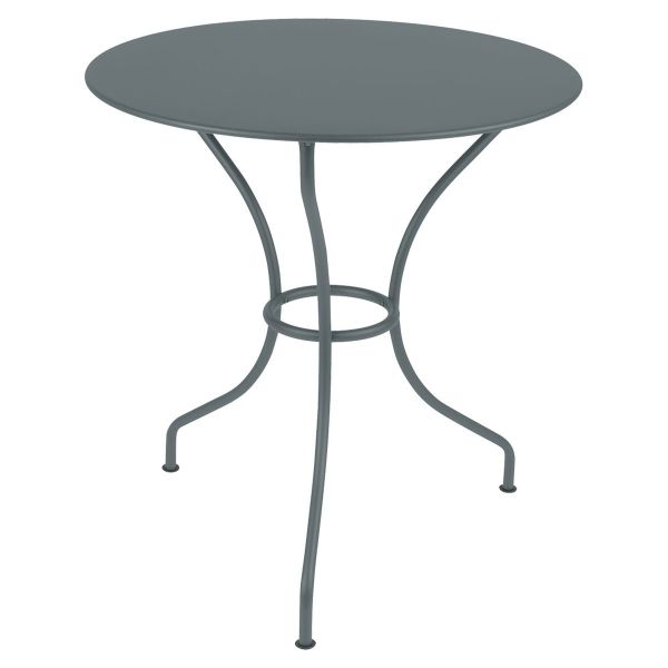 Fermob Opera Round Table 67cm in Storm Grey