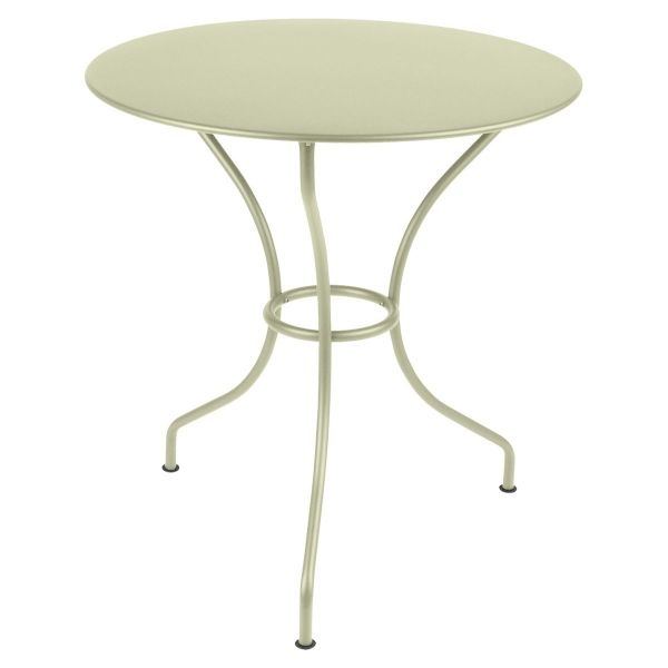 Fermob Opera Round Table 67cm in Willow Green