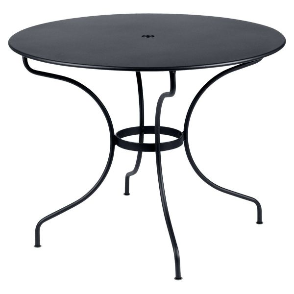 Fermob Opera Round Table 96cm in Anthracite