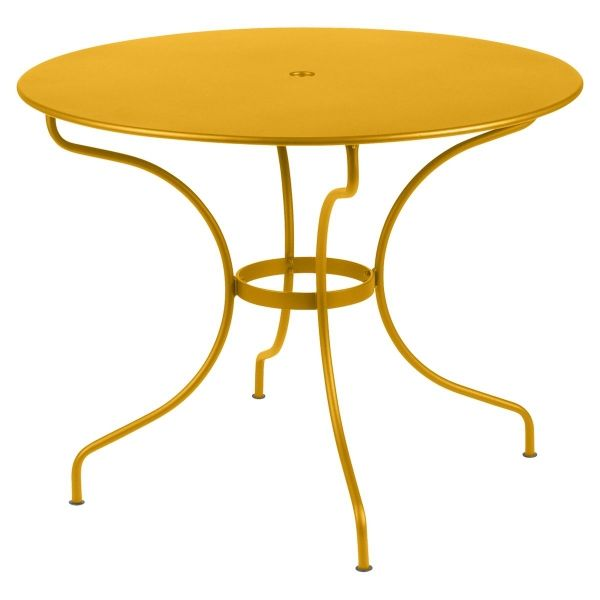 Fermob Opera Round Table 96cm in Honey