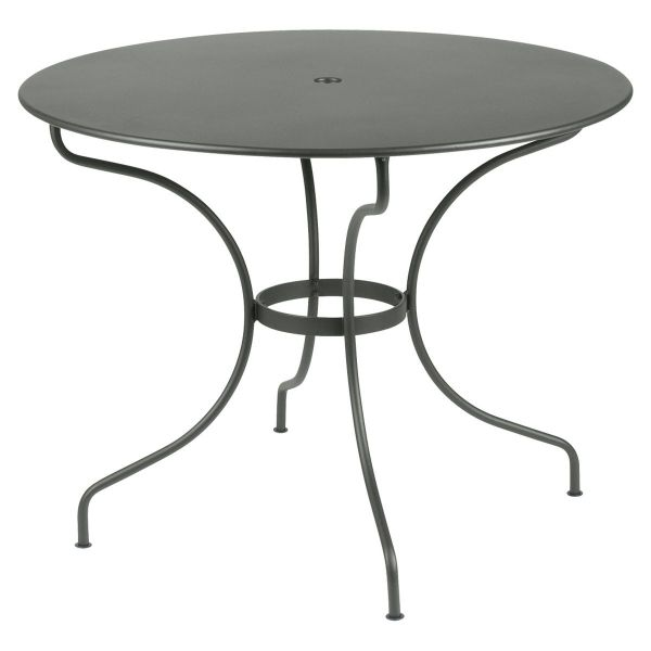 Fermob Opera Round Table 96cm in Rosemary