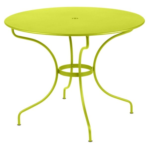 Fermob Opera Round Table 96cm in Verbena