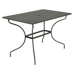 Opera Rectangle Outdoor Table 117 x 77cm in colour Rosemary from Opera Collection