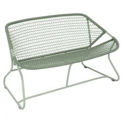 Sixties Outdoor Bench in colour Cactus from Sixties Modern Outdoor Furniture