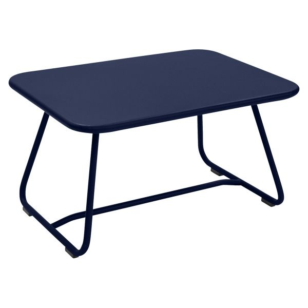 Fermob Sixties Low Table in Deep Blue