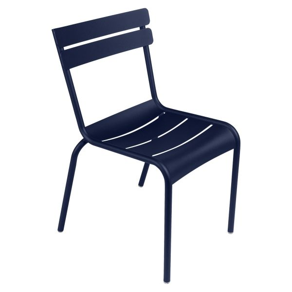 Fermob Luxembourg Chair in Deep Blue