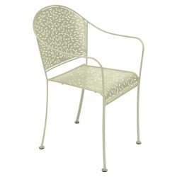 Rendez-vous Outdoor Armchair in colour Willow Green from Rendez-vous Collection