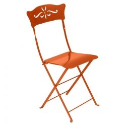 Bagatelle Outdoor Chair in colour Carrot from Bagatelle Collection