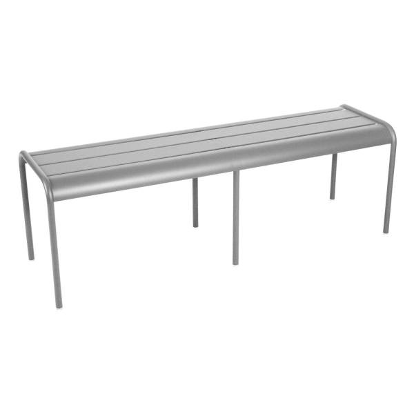 Fermob Luxembourg Bench in Steel Grey