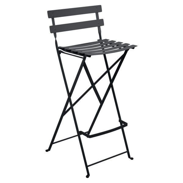 Fermob Bistro High Stool in Anthracite